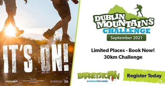 The Dublin Mountains Challenge 2021