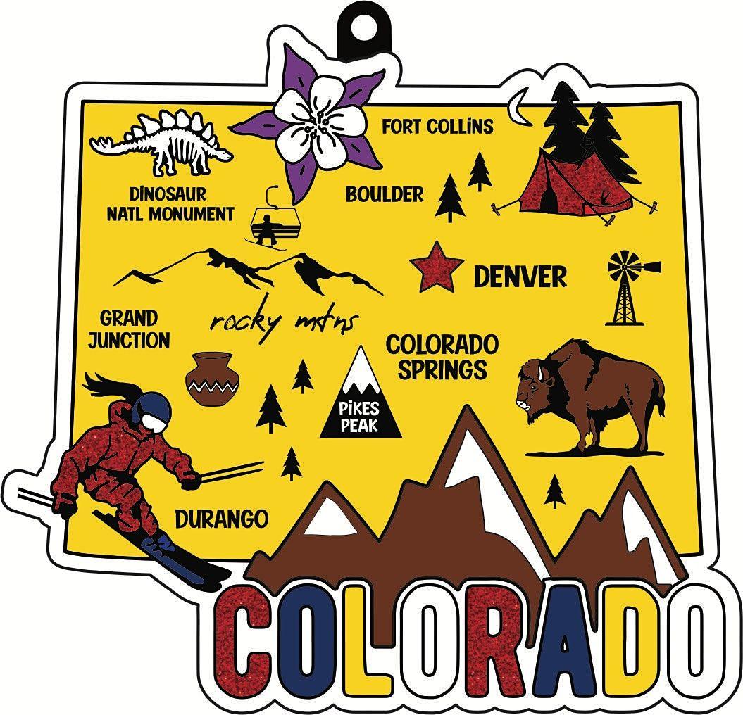 2021 Race Thru Colorado 5K 10K 13.1 26.2 -Participate from Home Save $5