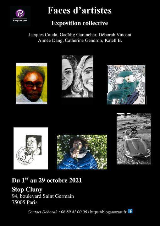 Faces d'artistes, 1er au 29 octobre 2021