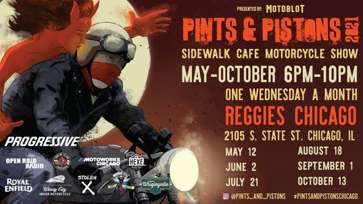 Pints & Pistons Chicago 2021 - August 18th
