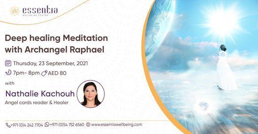 Deep healing Meditation with Archangel Raphael with Nathalie Kachouh