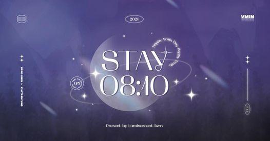 [ HN ] STAY 08:10 \u203a vmin's free cup holder event \u208a\u02da ?