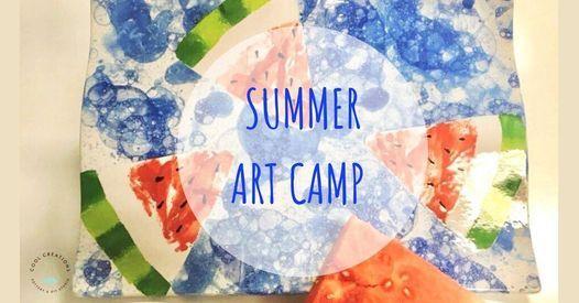 Summer Art Camp July 19-July 23, 2021
