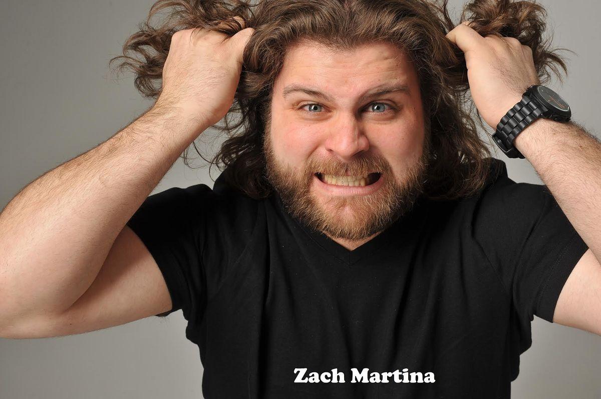 FRIDAY OCTOBER 1: ZACH MARTINA
