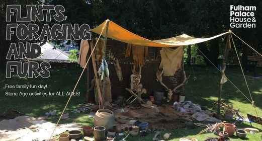 Flints, foraging and furs: stone age family fun day