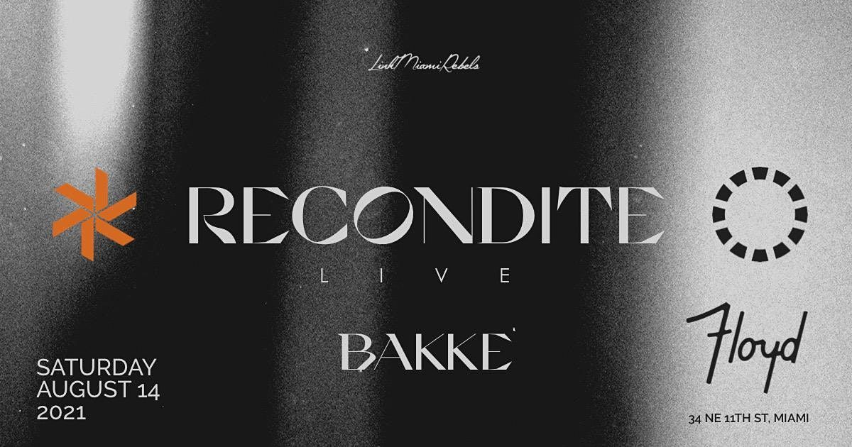 Recondite by Link Miami Rebels