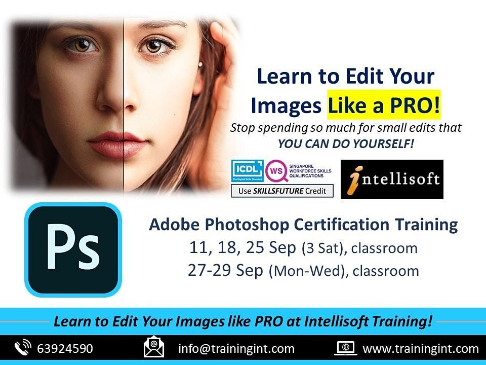 Adobe Photoshop Training at Intellisoft in Singapore