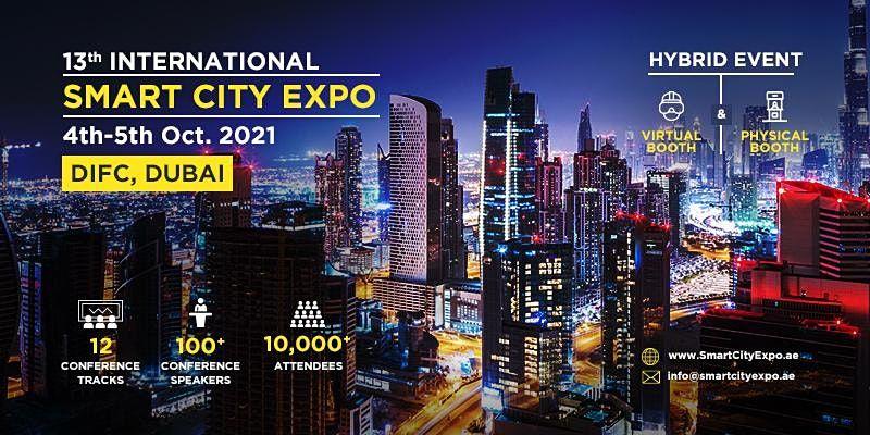 13th International Smart City Expo 2021, Dubai - Integrated Sponsorships