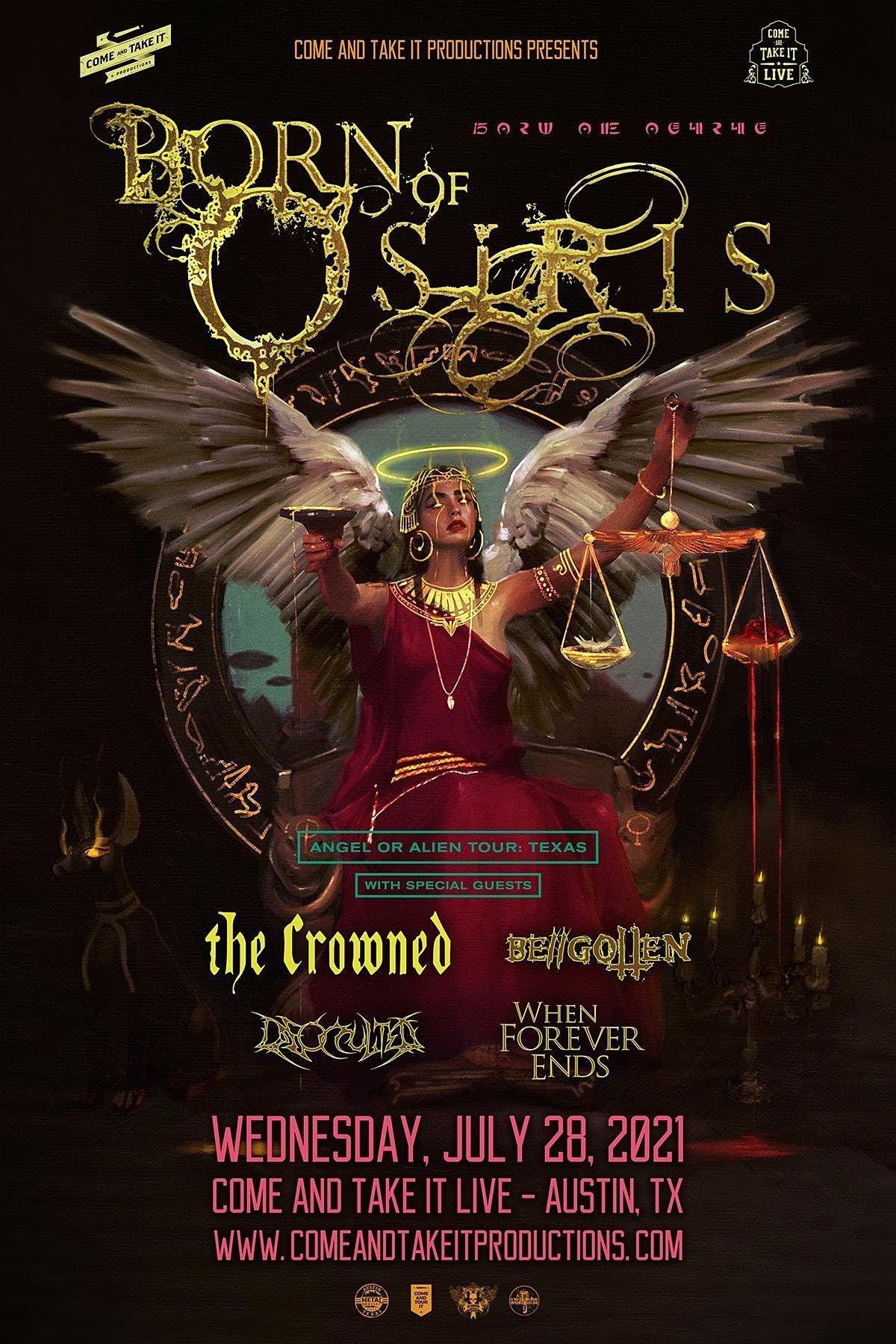 BORN OF OSIRIS: Angel or Alien Tour