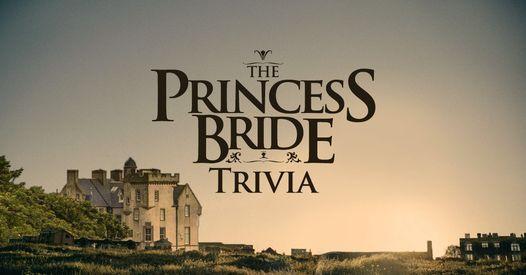 The Princess Bride Trivia at Persimmon Hollow Lake Eola