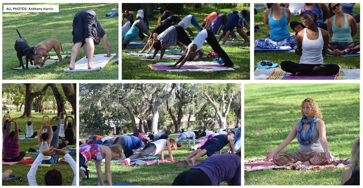 Community Yoga at Legion Park