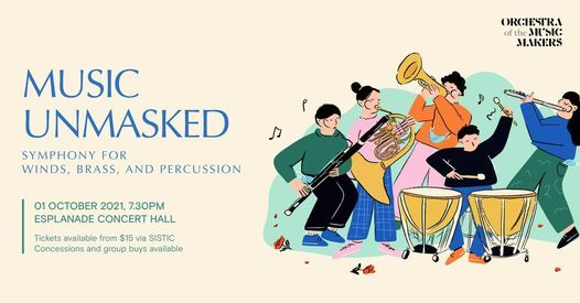 Music Unmasked - Symphony for Winds, Brass, and Percussion