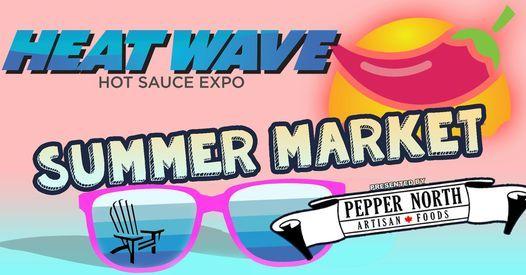 Heat Wave Hot Sauce Summer Market