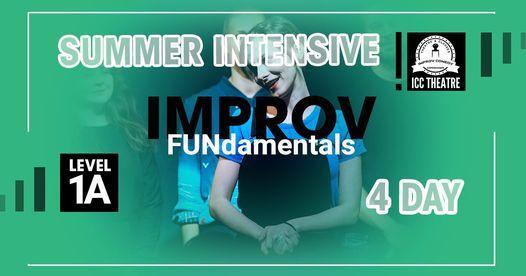 Improv FUNdamentals Summer Course \u2013 Level 1A