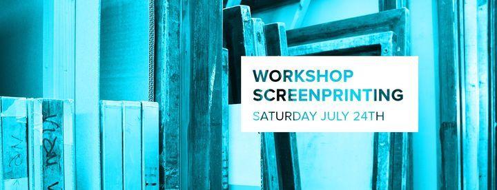 Workshop Screenprinting
