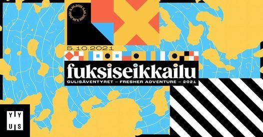 Fuksiseikkailu   Gulis\u00e4ventyret   Fresher Adventure 2021