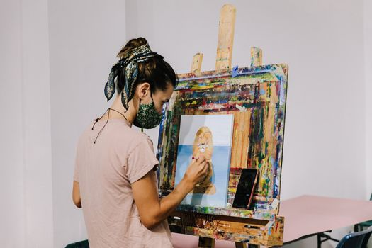 Painting With Acrylic or Oil