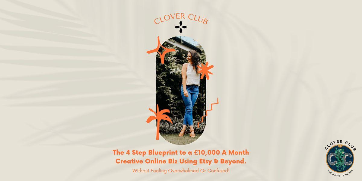 4 Step Blueprint To A \u00a310,000  A Month Creative Online Biz Using Etsy (Bir)