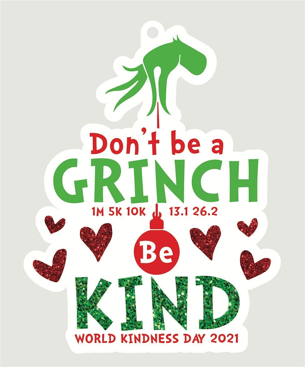 2021 World Kindness Day 1M 5K 10K 13.1 26.2-Participate from Home. Save $5