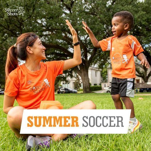 Soccer Shots Summer Camp at Smith