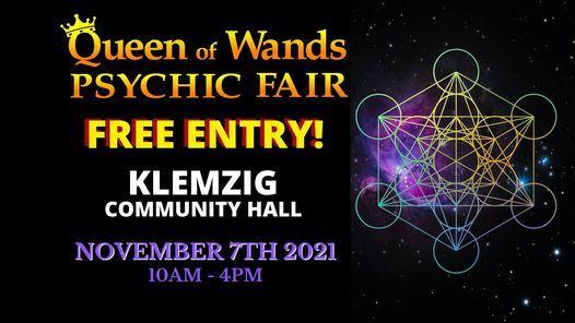 Queen of Wands Psychic Fair - At KLEMZIG!