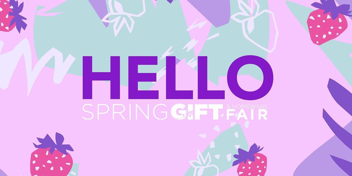 CANCELLED: Spring Gift & Homeware Fair 2021