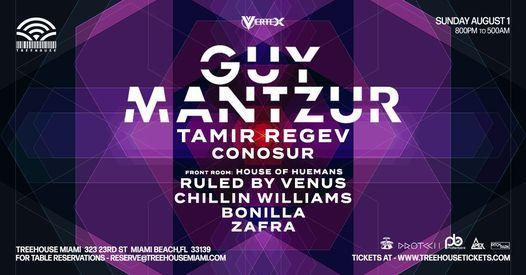 GUY MANTZUR & TAMIR REGEV @ Treehouse Miami