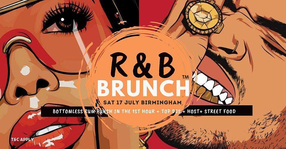 R&B Brunch BHAM - 31 JULY