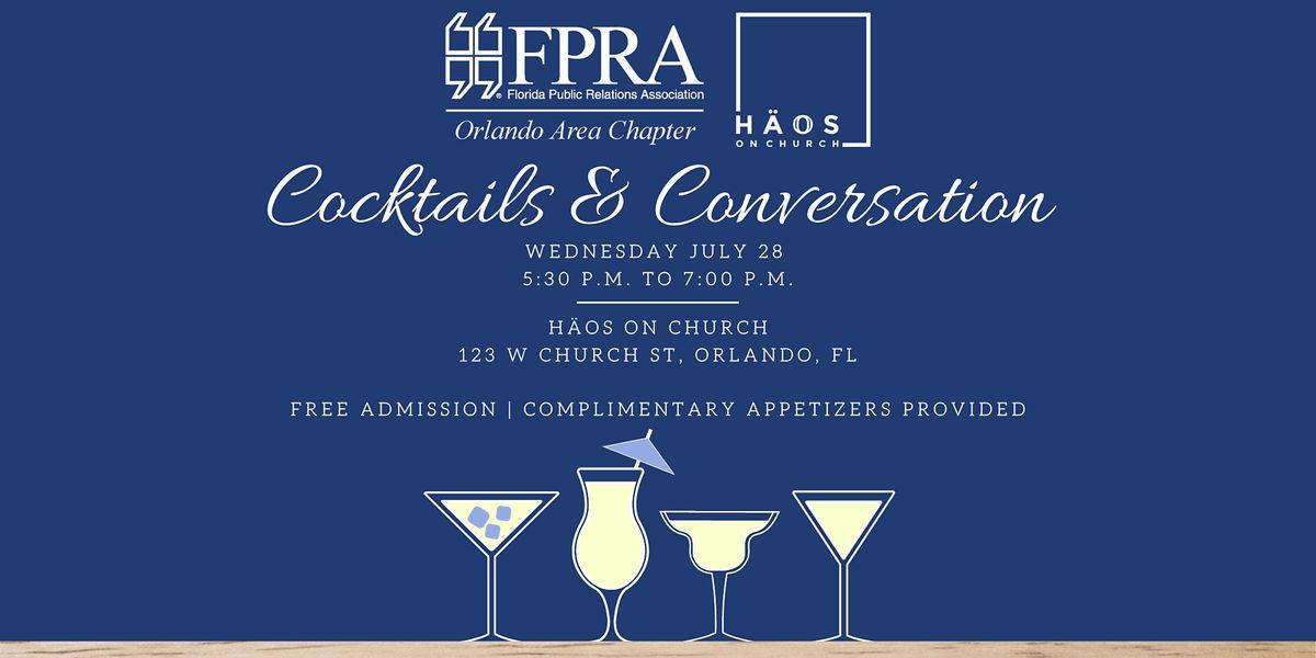 Cocktails & Conversation - FPRA Orlando