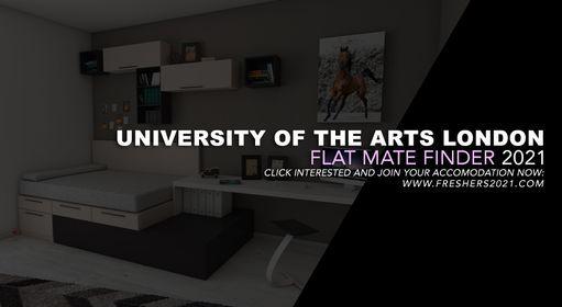 University of The Arts London, UAL Flat Mate Finder 2021
