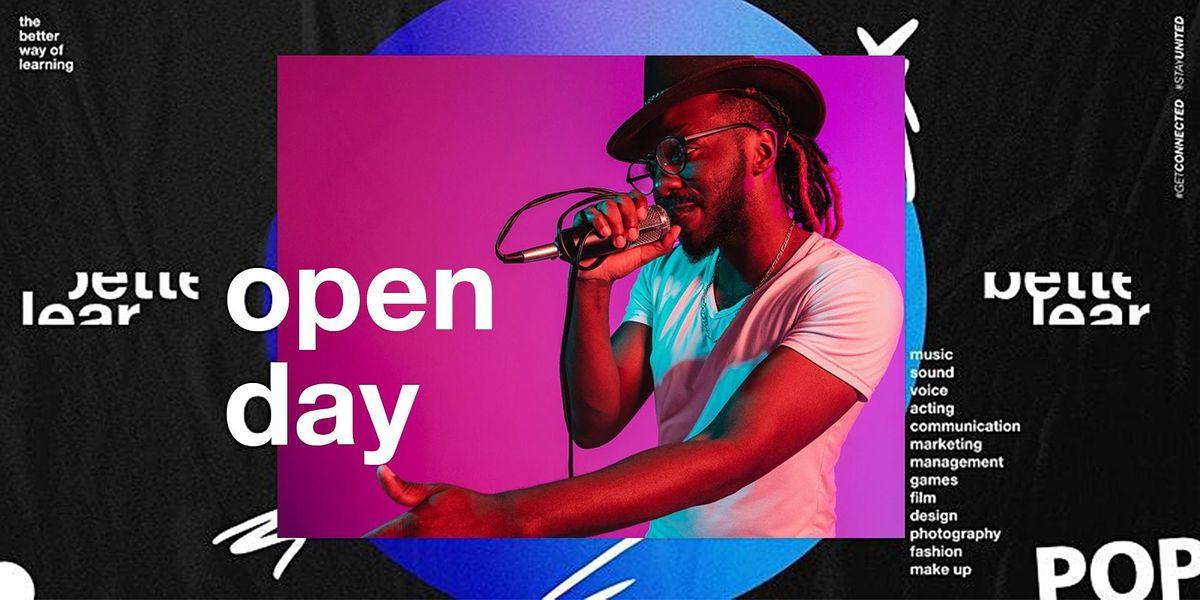 Open Day in Hamburg - Karriere in Musik & Medien