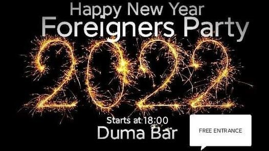 Happy New Year Moscow Foreigners Party (FREE)