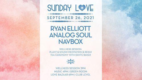 Sunday Love: Ryan Elliott - Analog Soul - Navbox