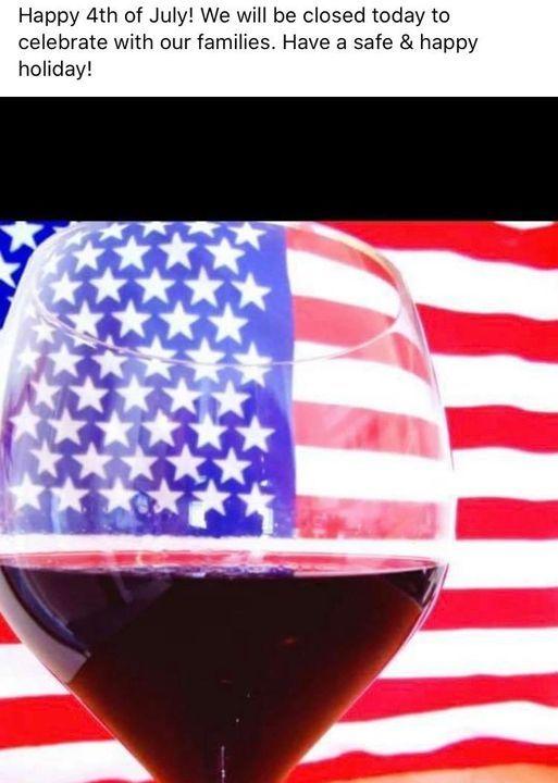 Celebrate America wine tasting