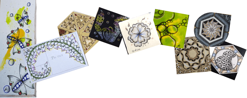 Zentangle Intermediate Course starts Oct 8 (8 Sessions)