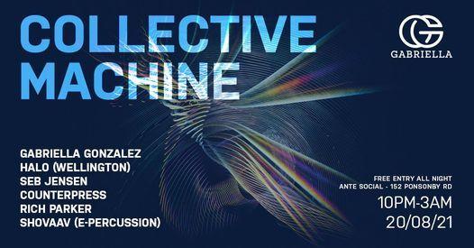 COLLECTIVE MACHINE - Ante Social