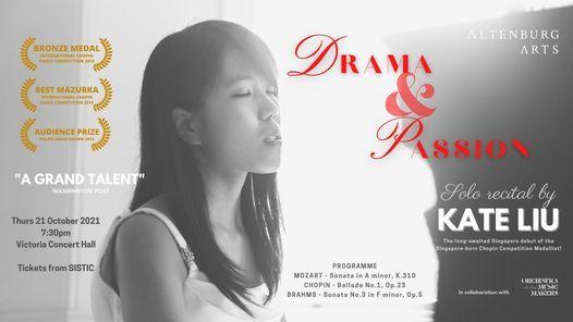 Drama & Passion   Solo recital by Kate Liu