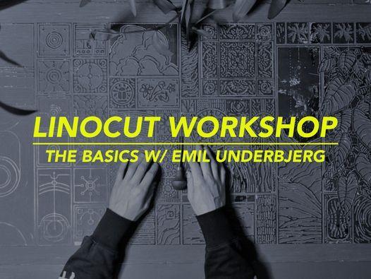 Linocut Workshop @ Monday Studio