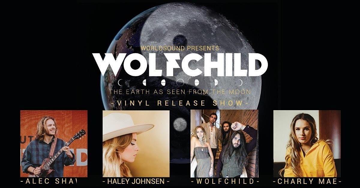 **RESCHEDULING** Wolfchild, Haley Johnsen, Charly Mae,  Alec Shaw