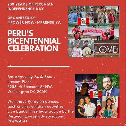 Celebremos a Per\u00fa en su Bicentenario!