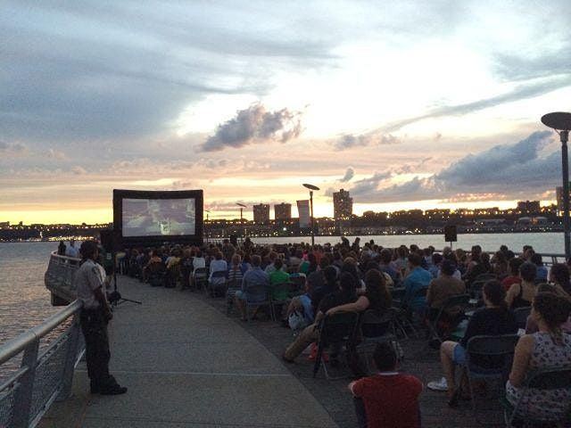 Summer on the Hudson Pier I Picture Show: Spider-Man: Into the Spider-Verse