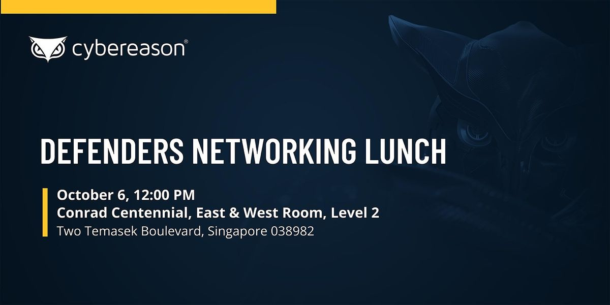 DEFENDERS NETWORKING LUNCH
