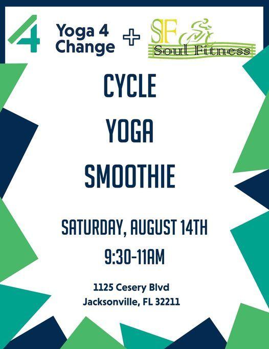 Cycle + Yoga + Smoothies