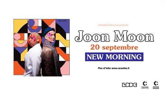 JOON MOON - 20 septembre 2021 - New Morning