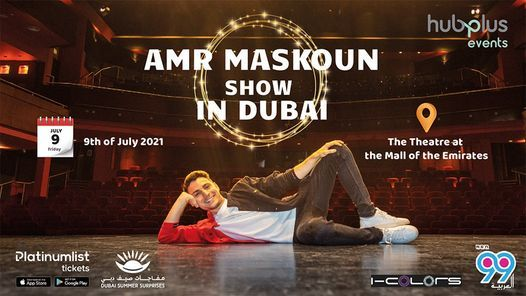 Amr Maskoun's stand-up comedy show at The Theater - Mall Of Emirates