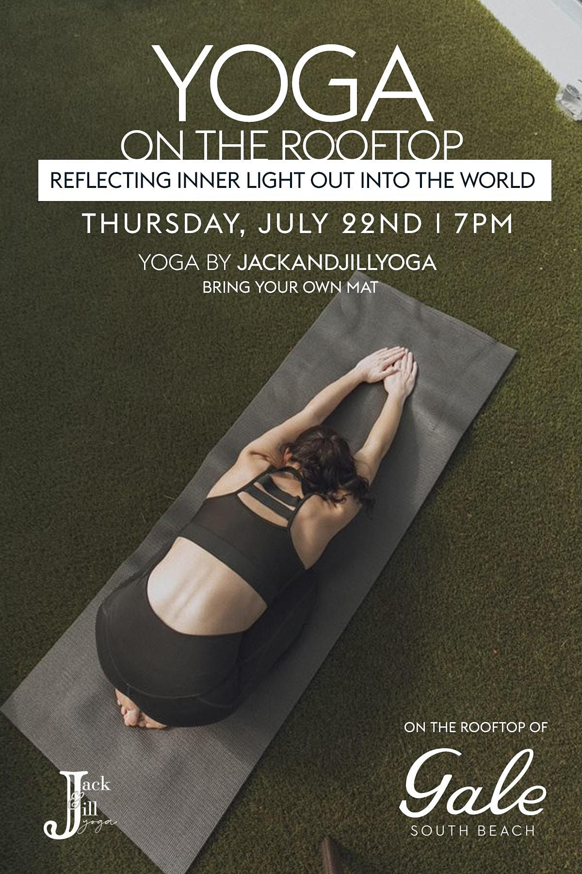 Yoga on the Rooftop - Reflecting Inner Light Out Into The World