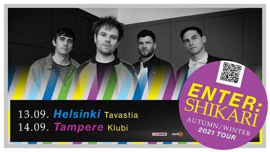PERUTTU: Enter Shikari (UK) Tavastia, Helsinki 13.9.2021