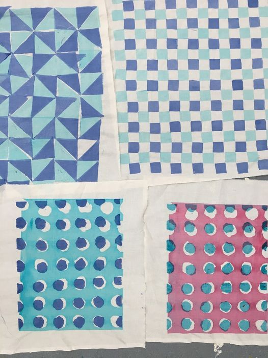 *SOLD OUT* Screen Printing on Fabric - 6 Week Tuesday Evening Workshop - All Levels