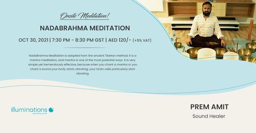 Onsite Meditation: Nadabrahma Meditation With Prem Amit