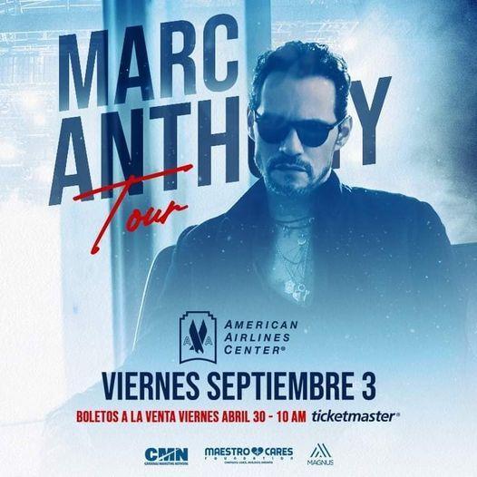 Marc Anthony Tour 2021